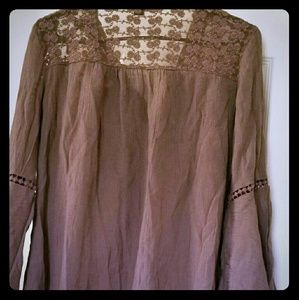New Directions Brown Women's Blouse